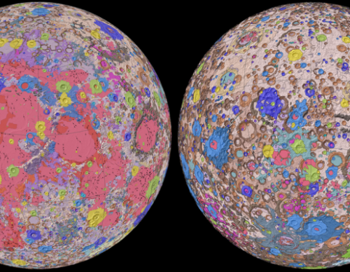 Moon Geological Map