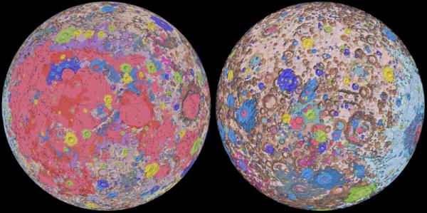 Moon Geological Map