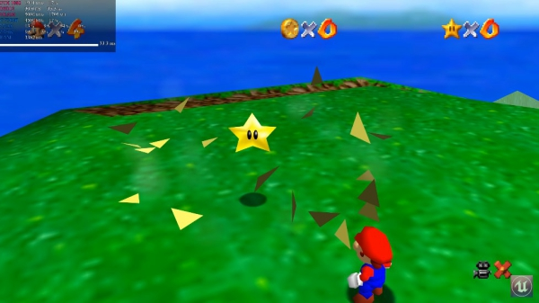 Nintendo's Super Mario 64 PC Port