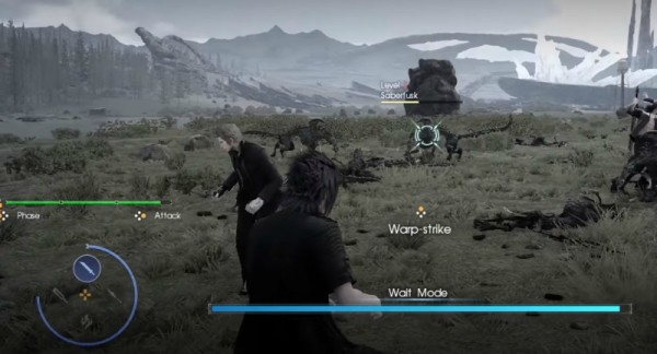 Final Fantasy XV Targeting