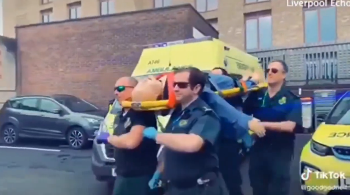 "Ambulance Does Popular ""Coffin Dance"" with Coronavirus ""Patient"" on TikTok: Too Dark?"