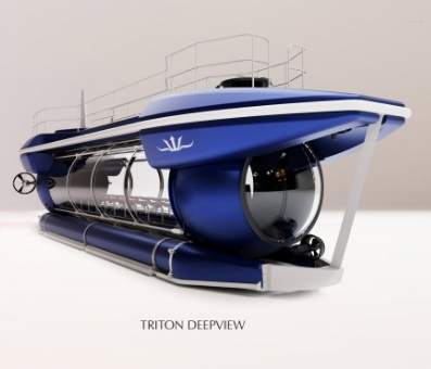 Triton Submarines Come Out with their New Luxury 24-Seater Commercial Sub: The DeepView 24