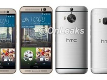 HTC M9 Plus leaked prototype next to official One M9 flagship