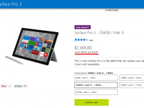 Microsoft Surface Pro 3 up to $150 off