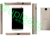 HTC One E9 leaked image shows glossy back
