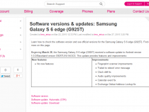T-Mobile Samsung Galaxy S6 Edge Android 5.0.2 update