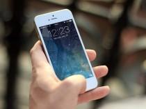 An Apple iPhone