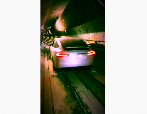 [Video] Watch Elon Musk's Tesla Model X First Run Through The Boring Company's Tunnel: Is Humanity One Step Closer to Eliminating Traffic?