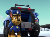 Paw Patrol's police dog Chase
