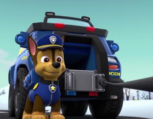 Paw Patrol's police dog Chase