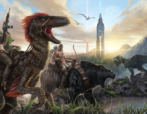 Ark: Survival Evolved official artwork