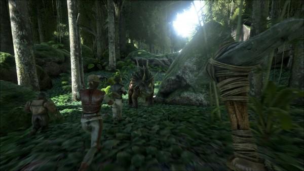 Ark: Survival Evolved gameplay