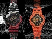 One Piece and Dragon Ball Z Limited Edition G-Shock Watches
