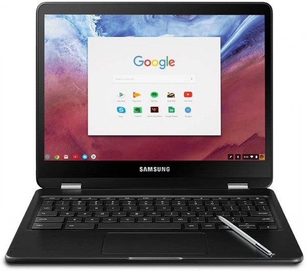 Samsung Chromebook Pro Convertible Touch Screen Laptop, 12.3 (XE510C24-K01US)
