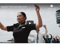 WestJet Staff Flash Mob Dance Party 2020