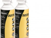 Fellowes Compressed Air Duster Cleaning Spray, 152A, 10oz, 2-Pack