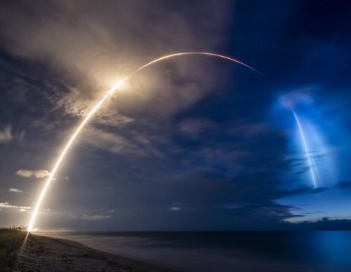 Falcon 9 launches 58 Starlink satellites and 3 Planetlabs Skysats