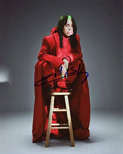 Billie Eilish Autographed Photo