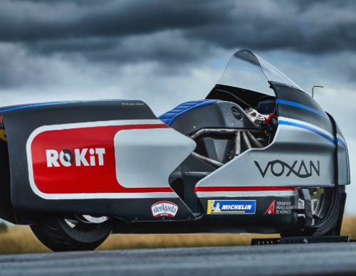 The World's Potentially Fastest Electric Motorcyle Uses Dry-Ice to Cool Its Engine! Learn More About the Voxan Wattman