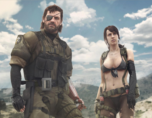Snake and Quiet from Metal Gear Solid V: The Phantom Pain