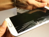 Samsung Galaxy S6 Edge screen cracked under pressure in Square Trade test