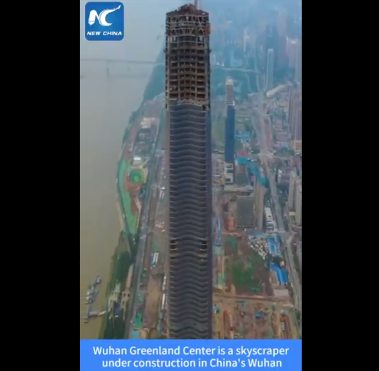 [Viral Video] After All the Controversy Over the Coronavirus, Wuhan China Plans to Build the Tallest Skyscraper Ever!