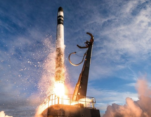 One of Rocket Lab's launches