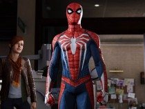 Marvel's Spider-Man for the PS4 screenshot of Spider-Man and Mary Jane