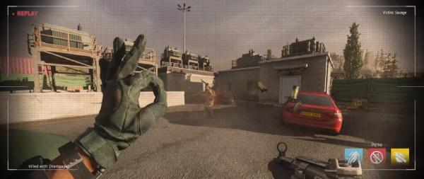 Call of Duty: Modern Warfare OK Hand Gesture
