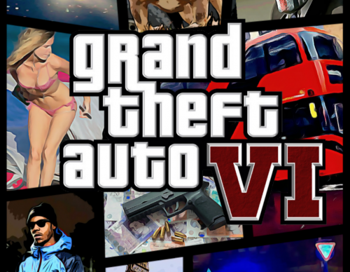 Grand Theft Auto VI concept cover art