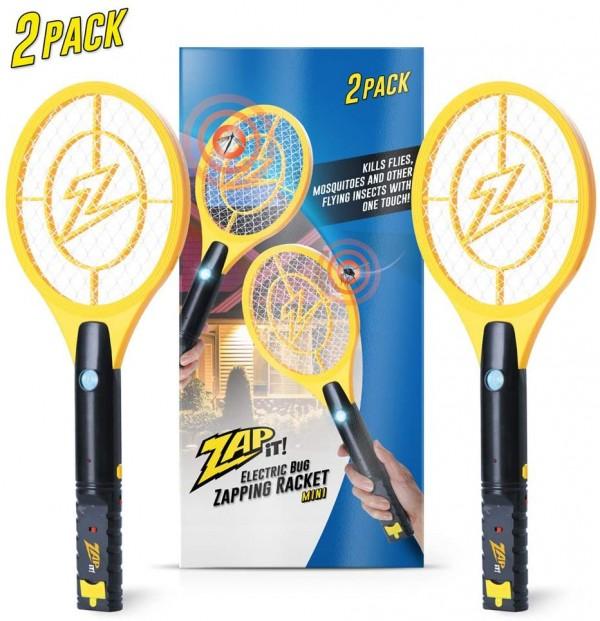 Zap-It! Rechargeable Bug Zapper Racket