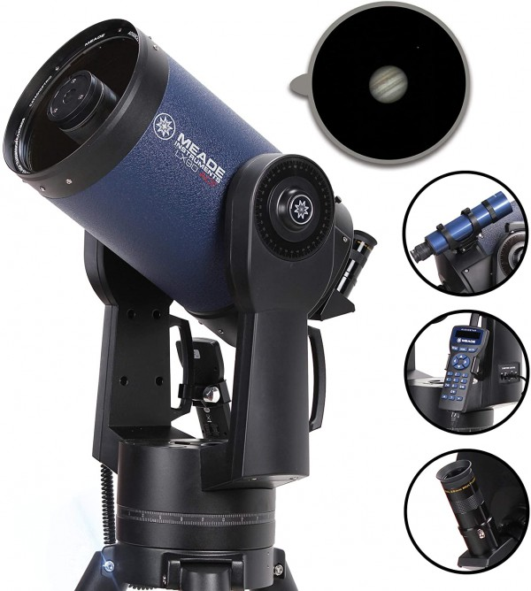 Meade Instruments 0810-90-03 LX90-ACF 8-Inch (f/10) Advanced Coma-Free Telescope