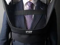 Man Wearing a Bio VYZR hazmat suit
