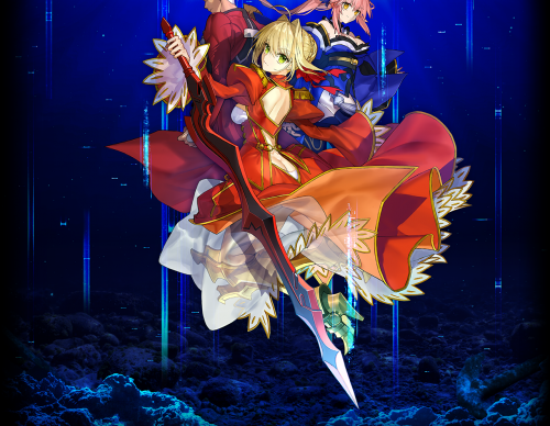 Fate/EXTRA Record official art