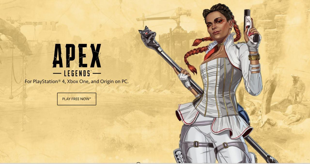 Apex Legends Starting Characters Guide