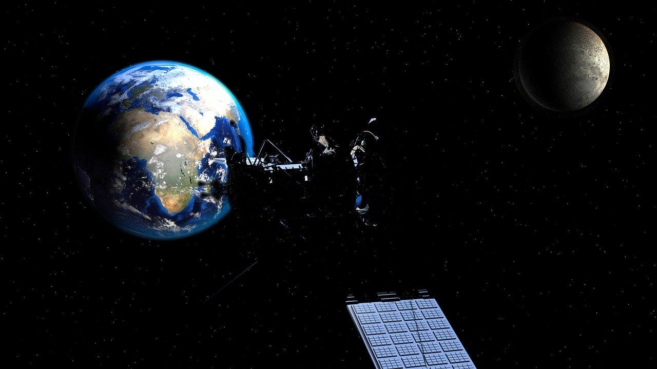 Aging NASA satellite returns home