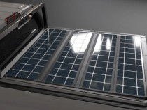 Solar-Panel Bed Cover Boost Renewable Energy Use in Pick-Up Trucks
