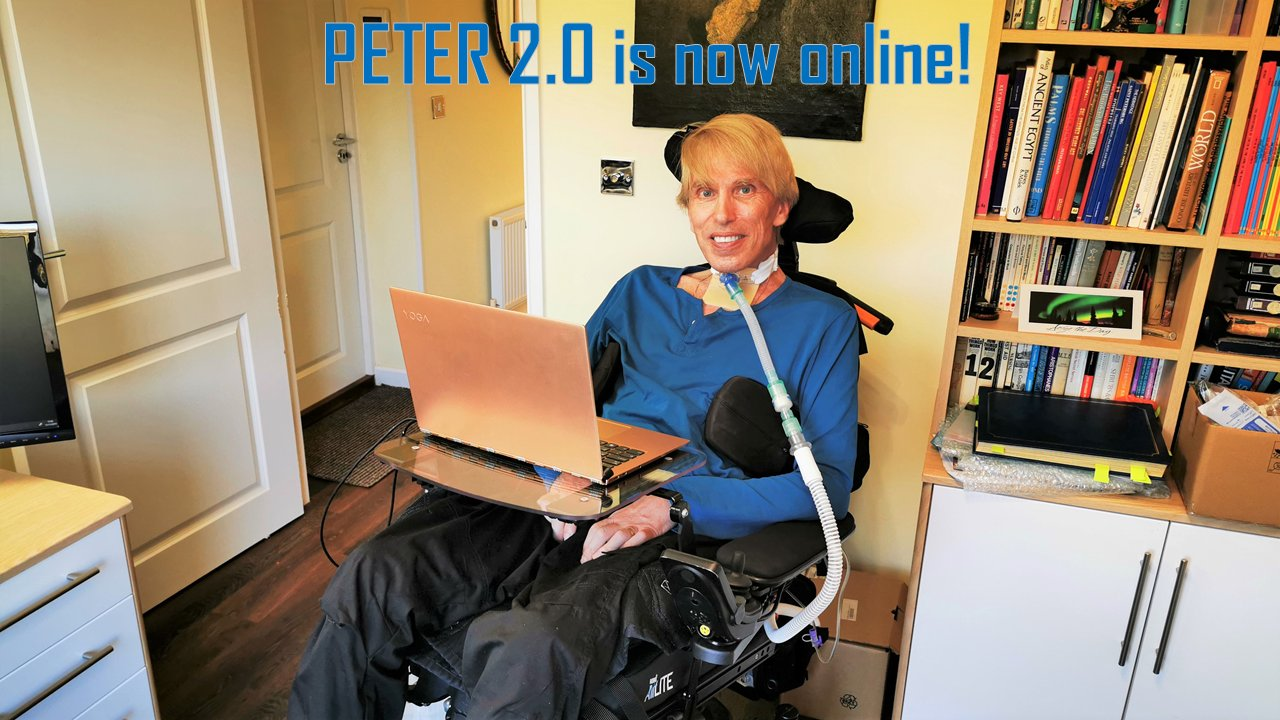 Peter:Human Cyborg