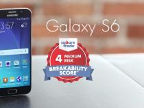 Samsung Galaxy S6 breakability score - SquareTrade