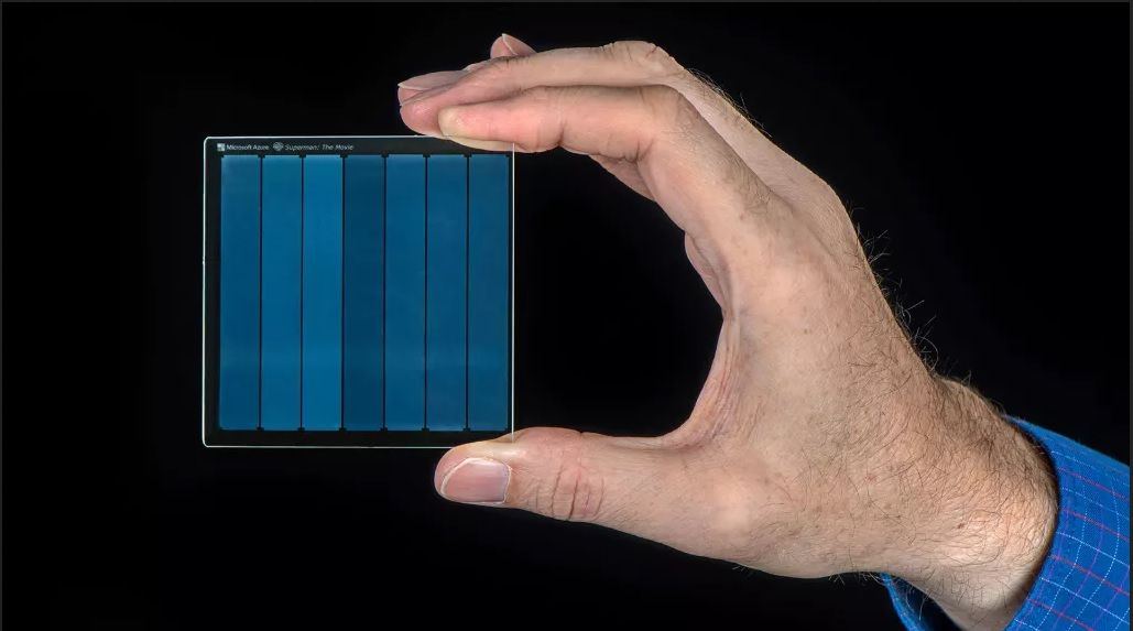 Petabyte Hard Disk Drive could surprisingly have glass parts