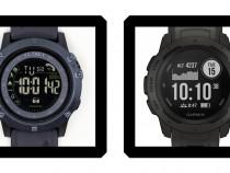 T1 Tact Watch Midnight Diaond vs Garmin Instinct