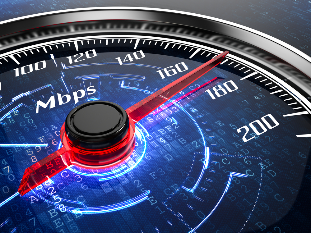 Internet speed