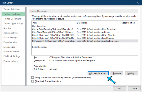 How to Fix Excel cannot Open the Specified File Error
