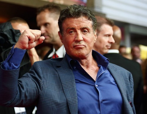 Sylvester Stallone attends the premiere of The Expendables 3 in Germany, 2014