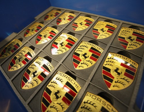 Porsche Logo Plates-Limited Hood Ornaments