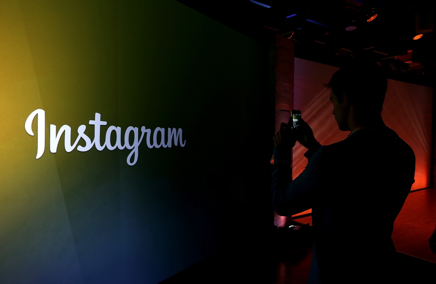 Instagram Logo in Facebook Headquarters