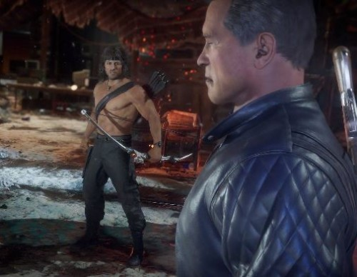 iTechPost - Man Vs Machine: New Mortal Kombat 11 Ultimate Trailer Pits Rambo Vs. Terminator