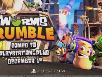 Worms Rumble Coming to PlayStation Plus this December