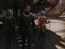 Black Panther's Arrival in Wakanda