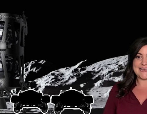 Moon Mark's Announcement for the Race On The Moon Project